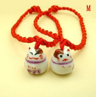 A0162-Japanese Lucky Cat  Bracelet