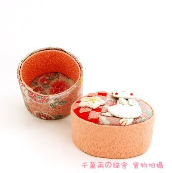 A0205-Japan Fabric jewelry box / packaging box