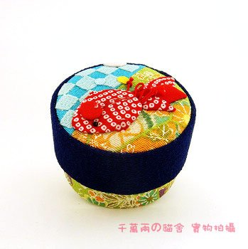 A0207-Japan Fabric jewelry box / packaging box