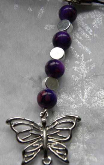 Fly Away Butterfly Cellphone Charm