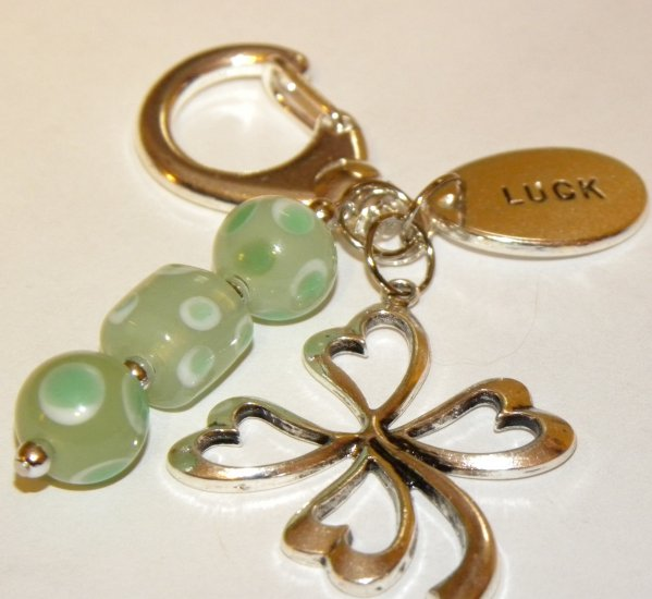 Get Lucky Keychain