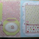 It's A Girl 2 12 x 12 Premade Scrapbook Pages