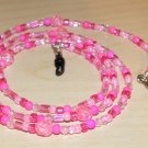 Shades Of Pink Eyeglass Chain