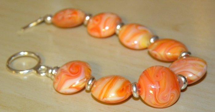 Orange Creamcicle Bracelet
