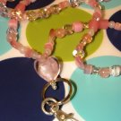 Pink Passion I.D. Badge Holder Chain