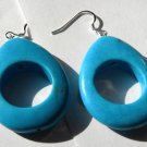 Teal Teardrops Earrings