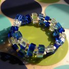 Blue Blocks Bracelet
