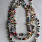 Confetti Gemstone Chip Necklace