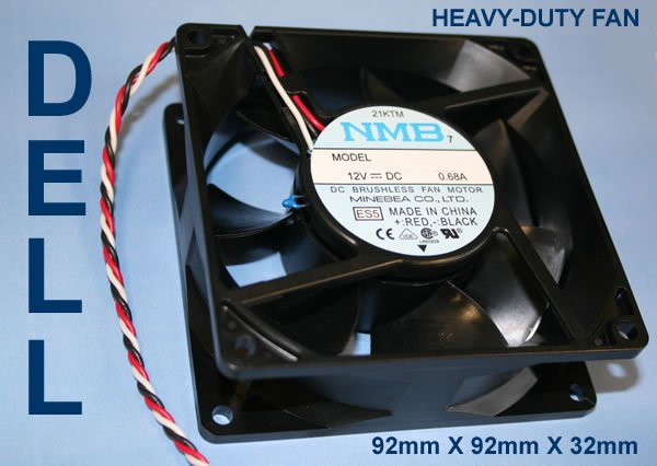 FREE SHIPPING | NEW Dell Dimension 8250 F0995 9m060 21KTM FAN NMB 3612KL 04W B66
