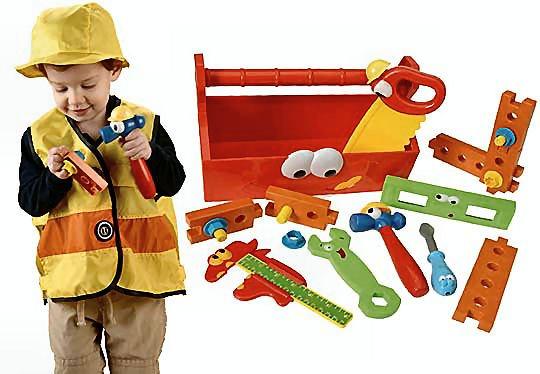 Toddler Construction Costume/Set