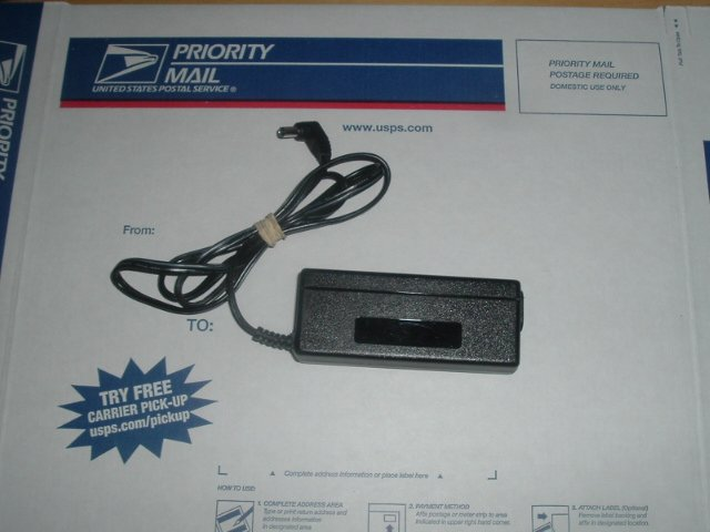 AC adapter power supply model Eos Corp. ZVC40LT12E