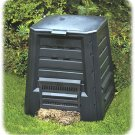 NEW! 90 GALLON Black COMPOSTER Ventilated FREE SHIPPING