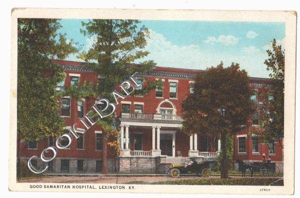 Vtg GOOD SAMARITAN HOSPITAL Lexington KY Postcard F79