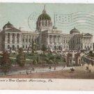 Vtg 1910 Harrisburg, PA CAPITOL BUILDING Postcard F11