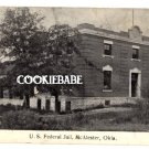 1914 US FEDERAL JAIL McALESTER, OK POSTCARD rppc  L143
