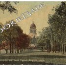 1912 MUSTER GROUNDS SITE CAPITOL Augusta ME Postcard