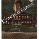 1911 Oldest STATE HOUSE Nite Annapolis, MD Postcard F17