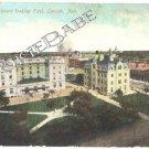 1910 GOVERNMENT SQUARE Lincoln Nebraska Postcard F13