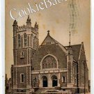 1909 SOUTH BEND St. Paul's Church Vintage Postcard F117