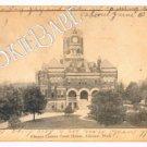 1907 UDB ALLEGAN, MI County Court House Postcard F86