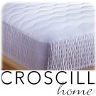 CROSCILL 400 TC Pima Cotton Mattress Pad Cal QUEEN NEW