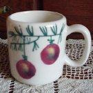 Hartstone CHRISTMAS BULBS Mug Zanesville, OH USA