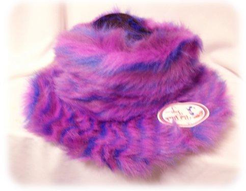 ~NEW COSTUME~SHAGGY HAT~Plush PARTY~w/Brim WARM NWT