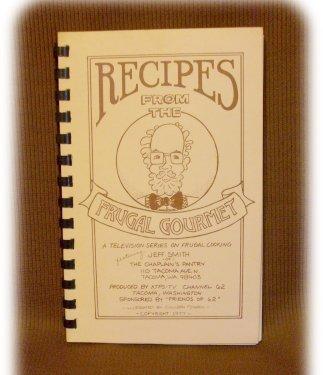 Recipes FRUGAL GOURMET JEFF SMITH Spiral COOKBOOK 1977