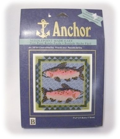 Anchor UNUSED Needlepoint Kit CATCH OF THE DAY 1998 NEW