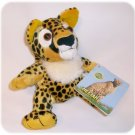 "Cute Plush CHEETAH 6"" with Tags STUFFED ANIMAL"