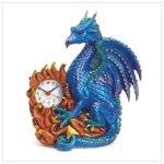 37868 Blue Dragon Clock