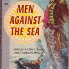 Men Against the Sea, Vintage Paperback, Adventure, Classics, Pocket Books #2358