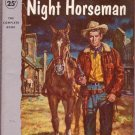The Night Horseman, Max Brand, Vintage Paperback, Pocket Book #1033, Western