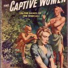 The Captive Women, Edmonds, Vintage Paperback Book, Western, Bantam #708