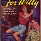 Waiting For Willy, Jack Houston, Vintage Paperback Book, Southern Sleaze, Avon #412