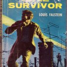 Sole Survivor, Falstein, Vintage Paperback Book, Cold War, Spy, Intrigue, Dell First Edition #29