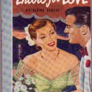 Encore For Love, Katharine Dunlap, Vintage Paperback Book, Romance, Bantam #412