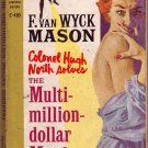 The Multi-Million-Dollar Murders, Mason, Mystery, Vintage Paperback Book, Cardinal #C-405