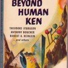 Beyond Human Ken, Vintage Paperback Book, Pennant #P-56, Sci-Fi