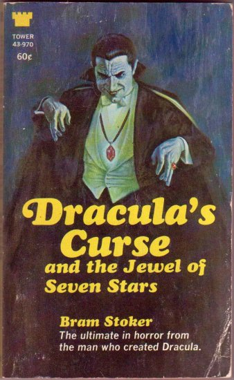 Dracula's Curse and The Jewel of the Seven Stars, Dracula's Curse, Stoker, Vintage Paperback Book