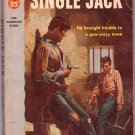 Single Jack, Max Brand, Vintage Paperback, Pocket Books #950, Western