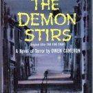 The Demon Stirs, Owen Cameron, Vintage Paperback Book, Occult, Dell #983