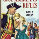 The Cumberland Rifles, Noel B. Gerson, Adventure, History, Vintage Paperback Book, Dell #736
