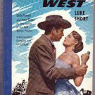 Station West, Luke Short, Vintage Paperback Book, Bantam #139, Western