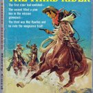 The Third Rider, Barry Cord, Vintage Paperback Book, Avon #T-554, Western