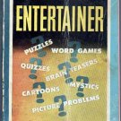 The Pocket Entertainer, Cunningham, Vintage Paperback, Pocket Book #165, Puzzles