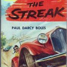 The Streak, Boles, Vintage Paperback Book, Bantam #A-1276, Hot Rod, Auto Racing Drama