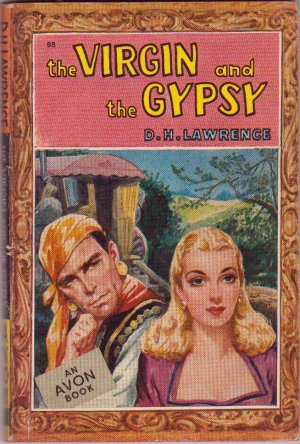 The Virgin and the Gypsy, D.H. Lawrence, Vintage Paperback Book, Avon #98, Romance