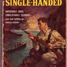 Single-Handed, C. S. Forester, Vintage Paperback Book, Bantam #1080, Adventure