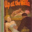 Up At the Villa, W. Somerset Maugham, Vintage Paperback Book, Bantam #136, Mystery, Romance